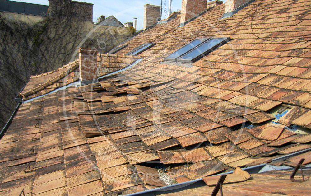 Tetőtér beépítés helytelen kivitelezése.